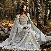 Субкультуры ручной работы. Ярмарка Мастеров - ручная работа Эльфийское платье. Handmade.