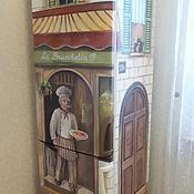 Дизайн и реклама ручной работы. Ярмарка Мастеров - ручная работа Роспись холодильника Повар. Handmade.