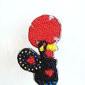 """Украшения ручной работы. Ярмарка Мастеров - ручная работа Брошь """"Петух Барселуш"""". Handmade."""