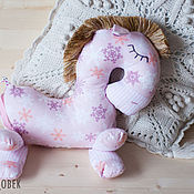 """Куклы и игрушки ручной работы. Ярмарка Мастеров - ручная работа Лошадка для сна """"Снежные мечты. Handmade."""