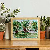 Картины и панно handmade. Livemaster - original item Picture Summer Forest Sun. Handmade.