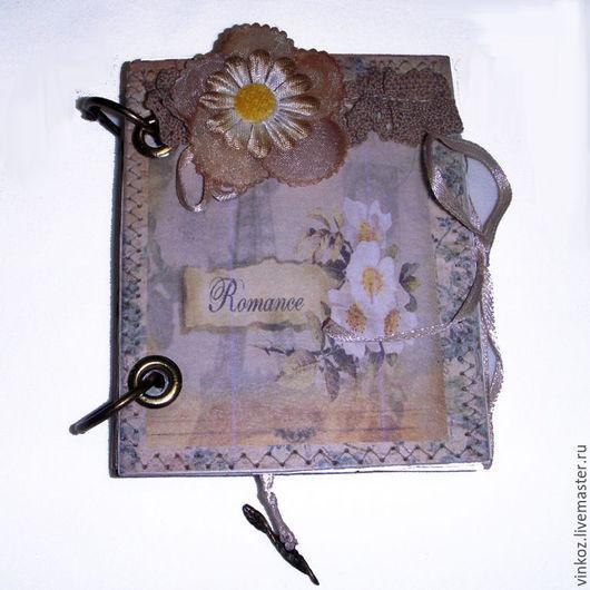 Блокноты ручной работы. Ярмарка Мастеров - ручная работа. Купить Блокнот на кольцах, блокнот ручной работы. записная книжка. цветок. Handmade.