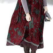 """Одежда ручной работы. Ярмарка Мастеров - ручная работа Длинная теплая юбка """"Версаль"""". Handmade."""