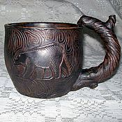Посуда handmade. Livemaster - original item Mug Mikhaylo Potapych. Handmade.