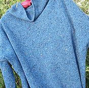 Одежда ручной работы. Ярмарка Мастеров - ручная работа Твидовый пуловер. Handmade.