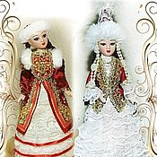 Dolls handmade. Livemaster - original item Bashkir and Kazakh-dolls in folk costumes. Handmade.