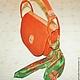 """Женские сумки ручной работы. """"Рыжая, рыжая..."""". Екатерина Кулабухова (KATYmade). Интернет-магазин Ярмарка Мастеров. Рыжий"""