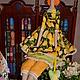 Куклы Тильды ручной работы. Тильда,,Цветочная фея,,. Елена (elenadollworld). Ярмарка Мастеров. Анютины глазки, тильдла цветочная, холлофайбер