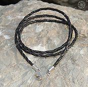 Русский стиль handmade. Livemaster - original item The cord is braided. Handmade.