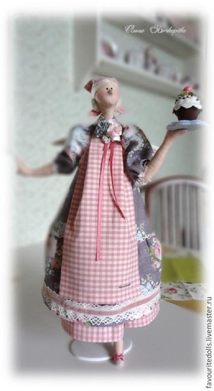 Куклы Тильды ручной работы. Ярмарка Мастеров - ручная работа. Купить Текстильная кукла. Домашняя фея. Шарлотта.. Handmade.