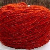 Материалы для творчества handmade. Livemaster - original item Yarn from Fox wool