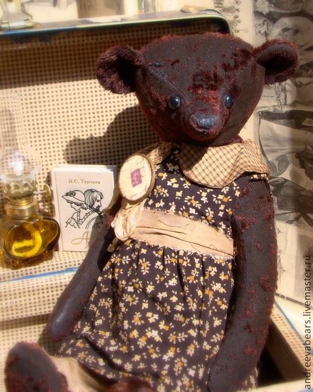 ' Brownie' attic bear, Teddy Bears, Moscow,  Фото №1
