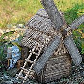 Куклы и игрушки ручной работы. Ярмарка Мастеров - ручная работа Старая мельница и Мышь. Handmade.