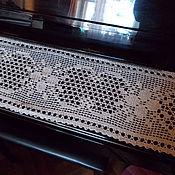 """Для дома и интерьера ручной работы. Ярмарка Мастеров - ручная работа д-ка""""Мадрид""""льняная. Handmade."""