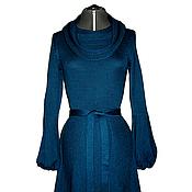 Одежда ручной работы. Ярмарка Мастеров - ручная работа Платье цвета морской волны. Handmade.