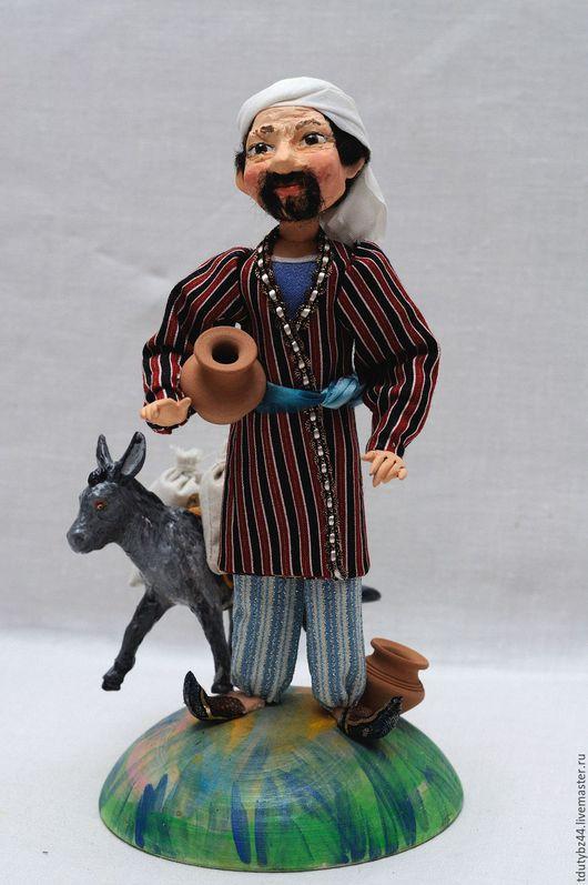 Коллекционные куклы ручной работы. Ярмарка Мастеров - ручная работа. Купить Ходжа Насреддин авторская кукла подарок. Handmade.