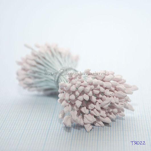 Материалы для флористики ручной работы. Ярмарка Мастеров - ручная работа. Купить ТЯ022 Тычинки японские с фактурными головками бледно-розовые большие. Handmade.