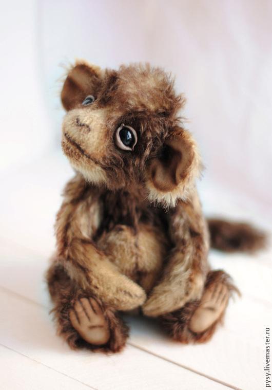Мишки Тедди ручной работы. Ярмарка Мастеров - ручная работа. Купить обезьянка Мика. Handmade. Коричневый, удивительный