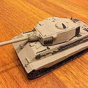 Для дома и интерьера handmade. Livemaster - original item E75 Tank Model. Ceramics. Handmade.