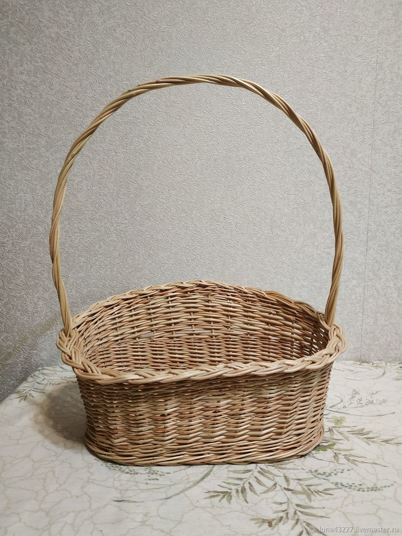 Basket from vine to design 'Gift', Basket, Kirovo-Chepetsk,  Фото №1