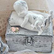 """Подарки к праздникам ручной работы. Ярмарка Мастеров - ручная работа Шкатулка """"Мой ангел"""". Handmade."""