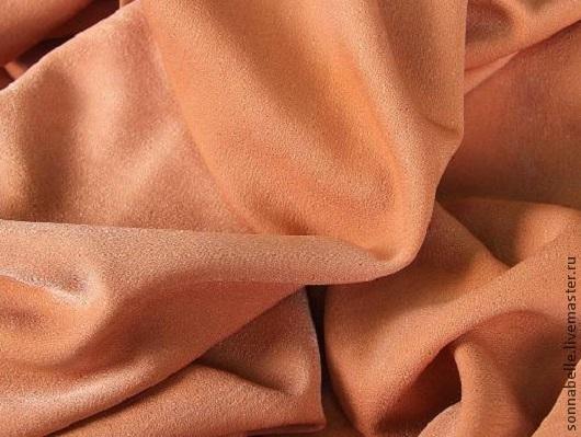 Шитье ручной работы. Ярмарка Мастеров - ручная работа. Купить Ткань для штор портьерная однотонная Софт Рыжий. Handmade. Шторы