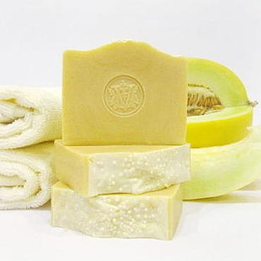 """Косметика ручной работы. Ярмарка Мастеров - ручная работа """"Медовая дынька"""" натуральное мыло с медом. Handmade."""