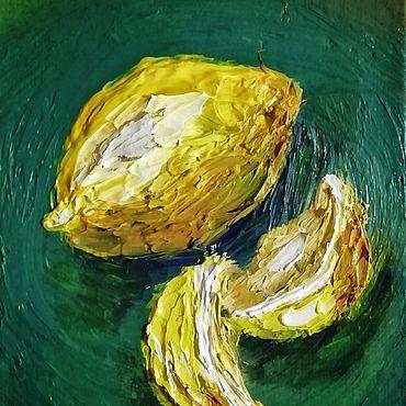 Картины и панно ручной работы. Ярмарка Мастеров - ручная работа Лимон. Handmade.