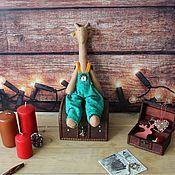 Tilda Toys handmade. Livemaster - original item Giraffe. Children`s decorative toy. Handmade.