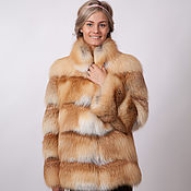 Одежда handmade. Livemaster - original item The coat of Fox. Fox fur coat.. Handmade.