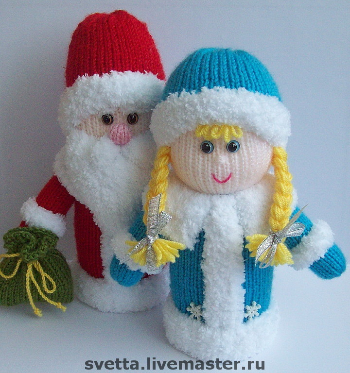 Вязание дед мороз мастер класс