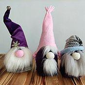 Мягкие игрушки ручной работы. Ярмарка Мастеров - ручная работа Гномы скандинавские. Handmade.