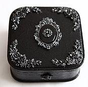 Для дома и интерьера handmade. Livemaster - original item NIGHT IS GENTLE, a casket for jewelry. Handmade.