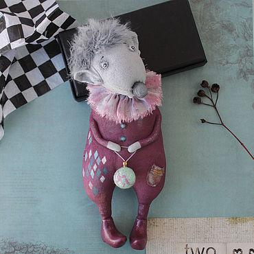 Dolls & toys handmade. Livemaster - original item Rats with Christmas ball.. Handmade.