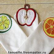 Для дома и интерьера ручной работы. Ярмарка Мастеров - ручная работа Кухонные полотенца. Handmade.