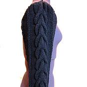 Одежда ручной работы. Ярмарка Мастеров - ручная работа Рукава для меховых жилетов вязаные, утепленные. Handmade.
