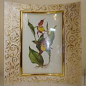 """Сувениры и подарки ручной работы. Ярмарка Мастеров - ручная работа Фоторамка """"Golden Pearl"""". Handmade."""