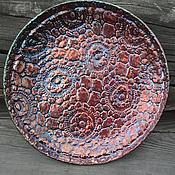 """Посуда ручной работы. Ярмарка Мастеров - ручная работа блюдо """"Каникулы на Марсе"""" rezerv. Handmade."""