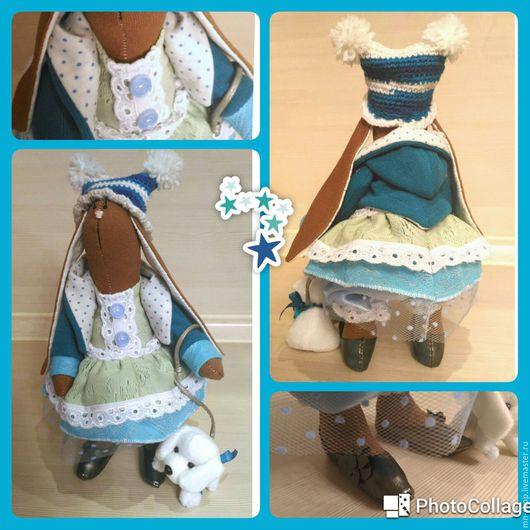 Куклы Тильды ручной работы. Ярмарка Мастеров - ручная работа. Купить Ася. Handmade. Бежевый, зайка, заяц тильда