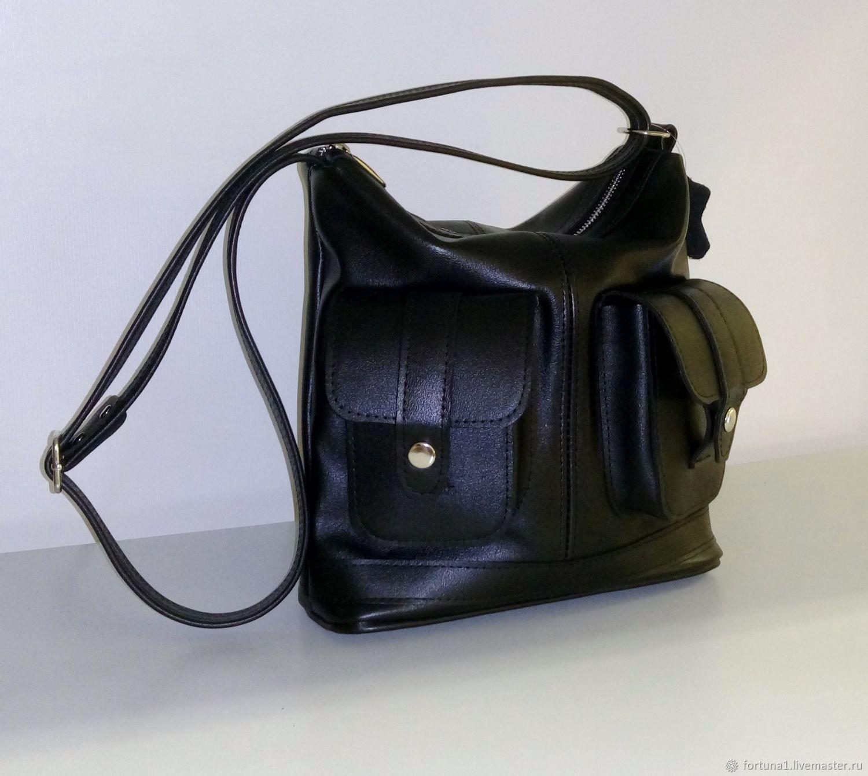 Handbags handmade. Livemaster - handmade. Buy Leather bag 202.Bag, crossbody bag, leather bag womens