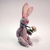 Куклы и игрушки ручной работы. Ярмарка Мастеров - ручная работа Заяц Кавалер. Handmade.