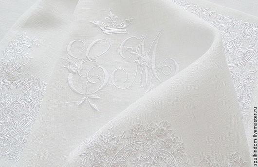 Мешочек для салфеток `Шпулькин дом` мастерская вышивки