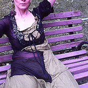 Одежда ручной работы. Ярмарка Мастеров - ручная работа блузка ГЕНЕРАЛЫ АФРИКИ. Handmade.