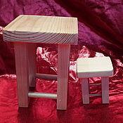 Материалы для творчества ручной работы. Ярмарка Мастеров - ручная работа Табуретка ( 2 размера ). Handmade.