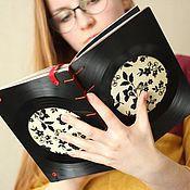"""Канцелярские товары ручной работы. Ярмарка Мастеров - ручная работа Скетчбук """"Забытая мелодия"""". Handmade."""