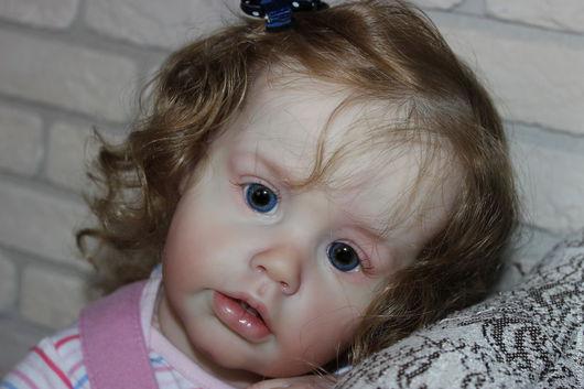 Куклы-младенцы и reborn ручной работы. Ярмарка Мастеров - ручная работа. Купить Малышка Ариэлька. Handmade. Бежевый, Молд