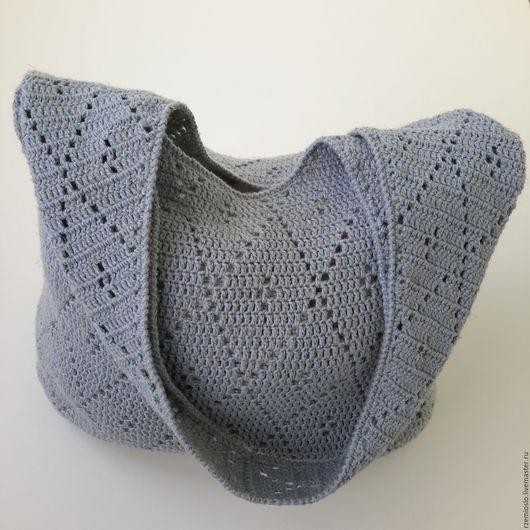 Женские сумки ручной работы. Ярмарка Мастеров - ручная работа. Купить Сумка льняная. Handmade. Абстрактный, крючок, сумка, лён