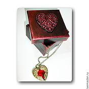 """Упаковка ручной работы. Ярмарка Мастеров - ручная работа коробочка """"Сердце"""". Handmade."""