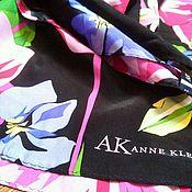 Аксессуары винтажные ручной работы. Ярмарка Мастеров - ручная работа Anne Klein шелковый шарфик. Handmade.