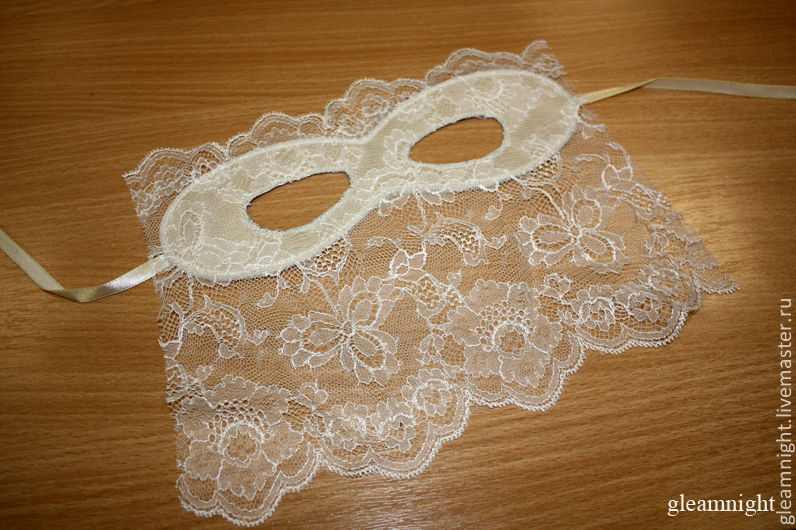 Milk lace mask